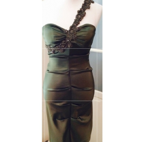 Cache Dresses & Skirts - Beautiful Olive Green- Price negotiable